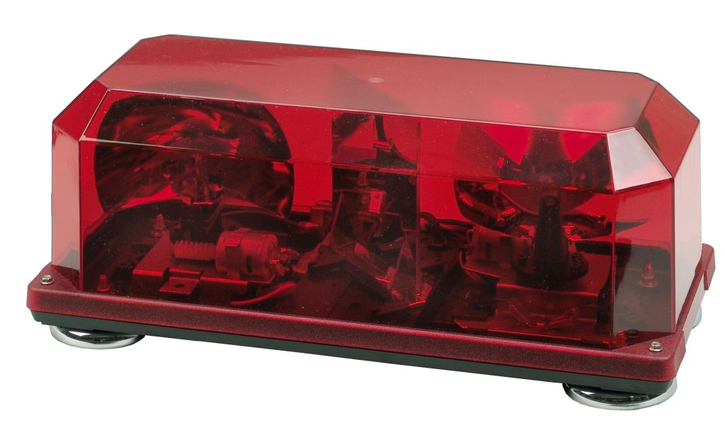 Wolo mini light bar halogen strobe led click to enlarge picture of model 3510 r aloadofball Choice Image