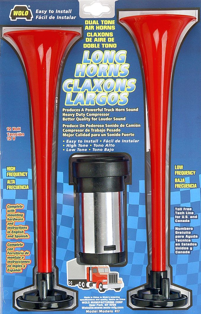 Wolo mfg corp air horns air horn accessories air comprresors click to enlarge picture of model 417 publicscrutiny